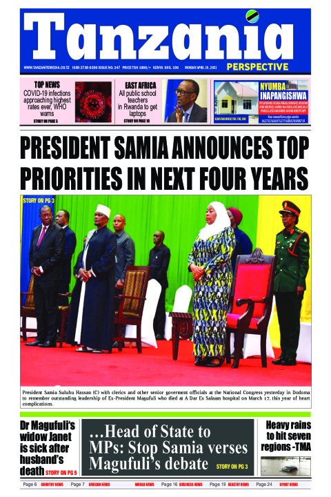 President Samia announces top priorities in next four years | Tanzania Perspective