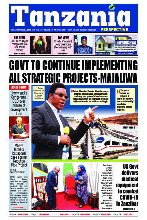 GOVT TO CONTINUE IMPLEMENTING ALL STRATEGIC PROJECTS-MAJALIW | Tanzania Perspective
