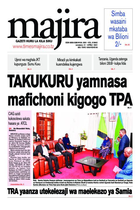 TRA yaanza utekelezaji wa maelekezo ya Samia | MAJIRA