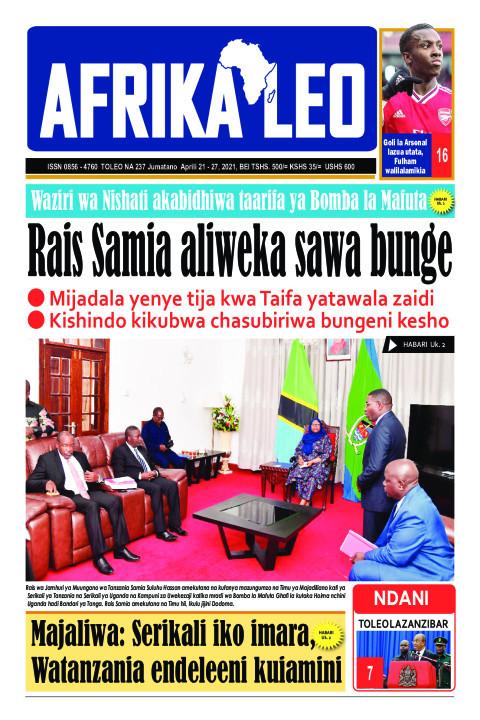 Rais Samia aliweka sawa bunge  | AFRIKA LEO