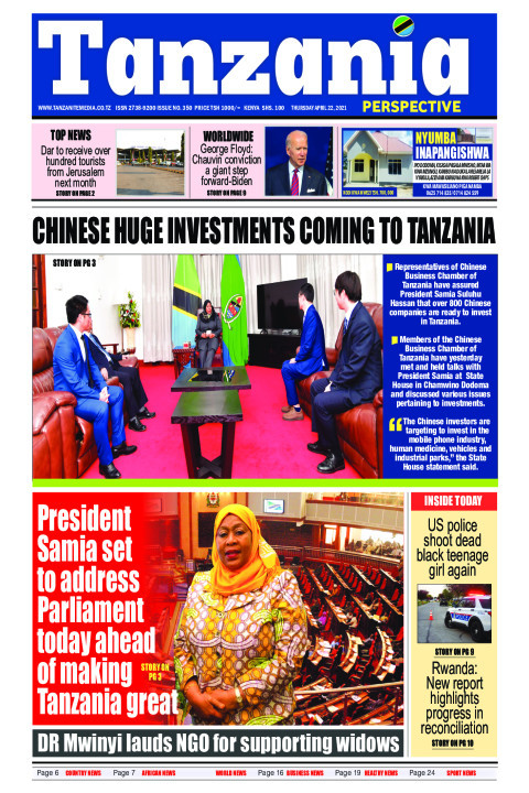 Chinese huge investments coming to Tanzania | Tanzania Perspective
