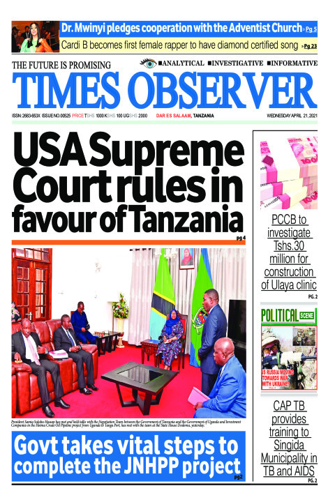 USA Supreme Court rules in favour of Tanzania | Times Observer