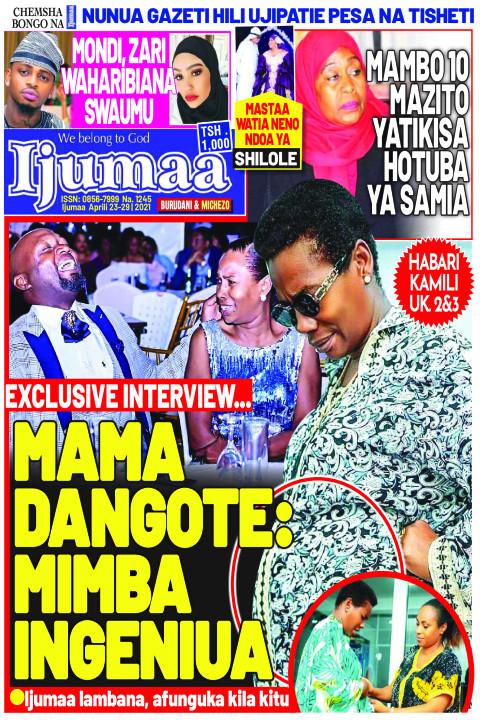 MAMA DANGOTE: MIMBA INGENIUA | Ijumaa Ijumaa