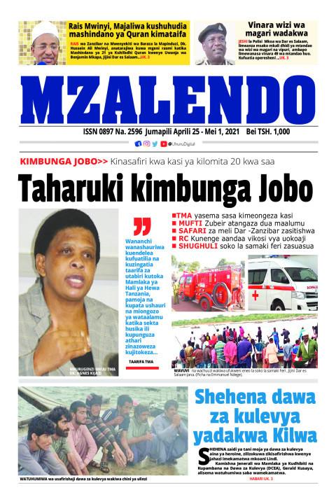 Taharuki kimbunga Jobo | Mzalendo
