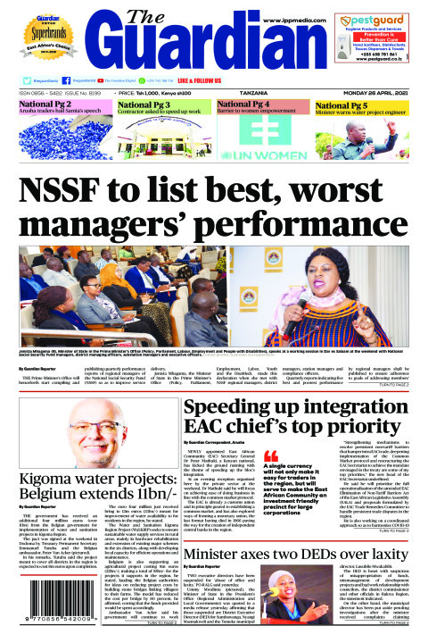 NSSF to list best, worst managers' performance | The Guardian
