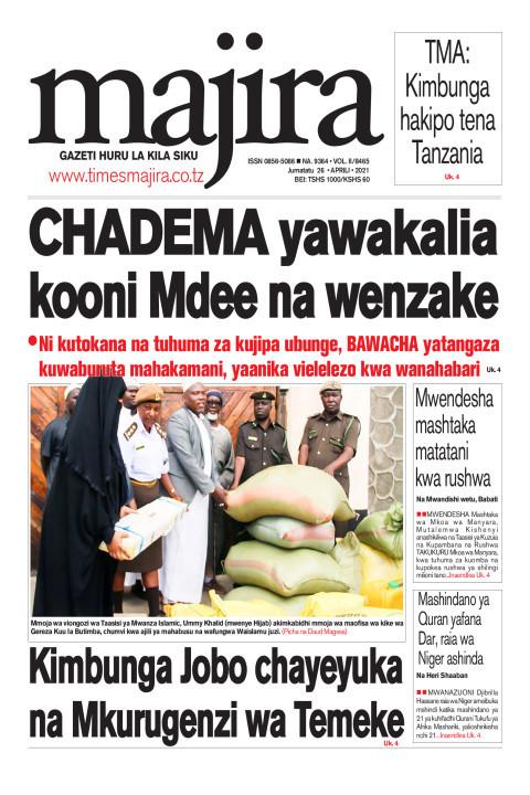 CHADEMA yawakalia kooni Mdee na wenzake | MAJIRA