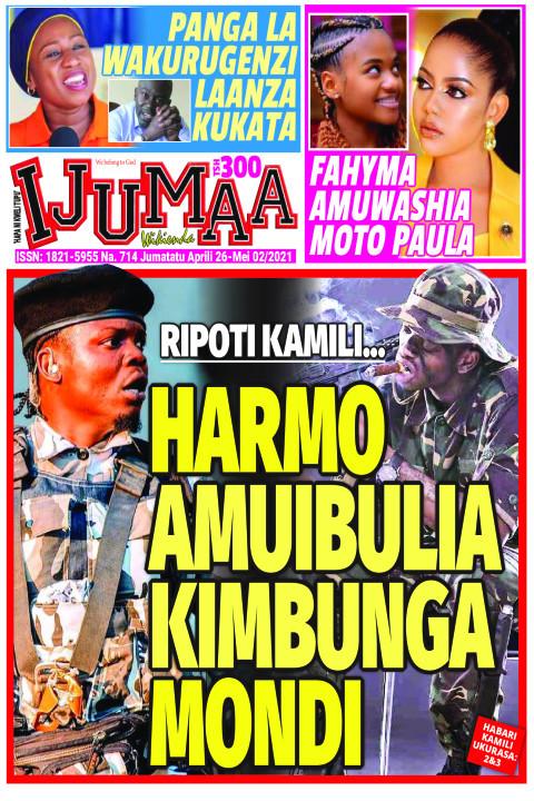 HARMO AMUIBULIA KIMBUNGA MONDI | Ijumaa Wikienda