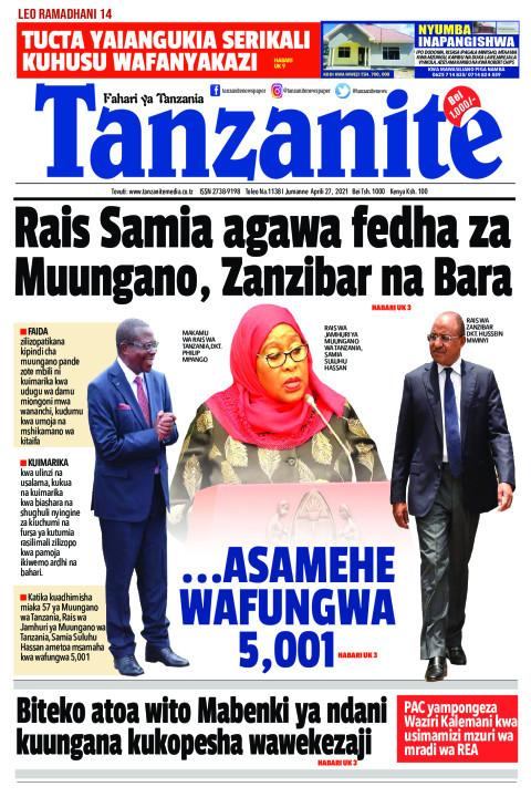 Rais Samia agawa fedha za Muungano, Zanzibar na Bara | Tanzanite