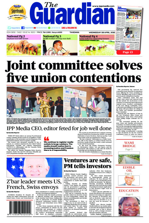 Joint committee solves five union contentions  | The Guardian