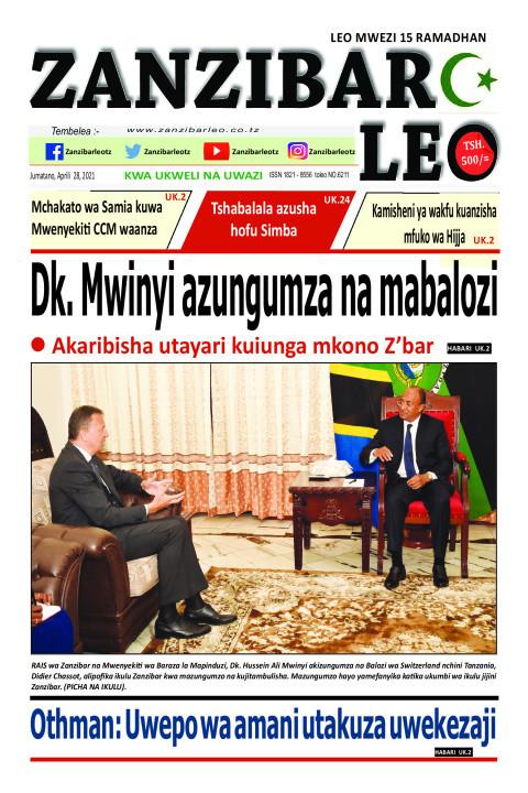 Dk. Mwinyi azungumza na mabalozi | ZANZIBAR LEO