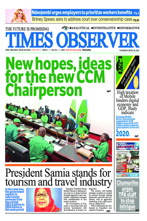 New hopes, ideas for the new CCM Chairperson | Times Observer