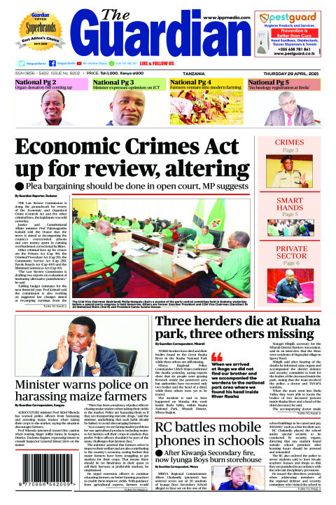 Economic Crimes Act up for review, altering | The Guardian