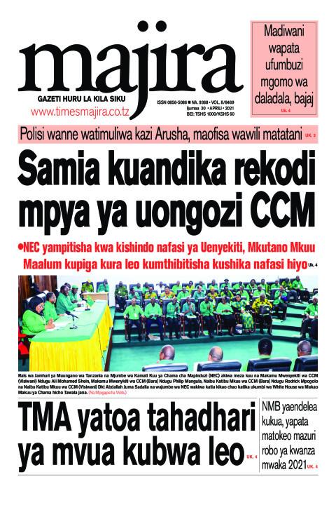 Samia kuandika rekodi mpya ya uongozi CCM | MAJIRA