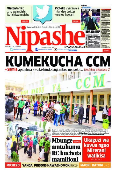KUMEKUCHA CCM | Nipashe