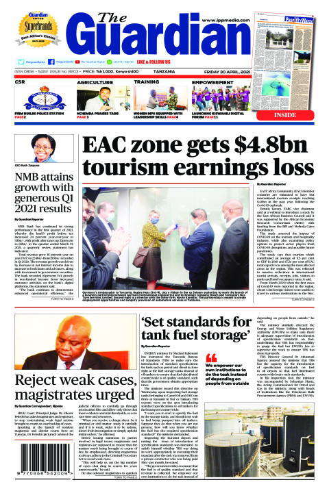 EAC zone gets $4.8bn tourism earnings loss | The Guardian