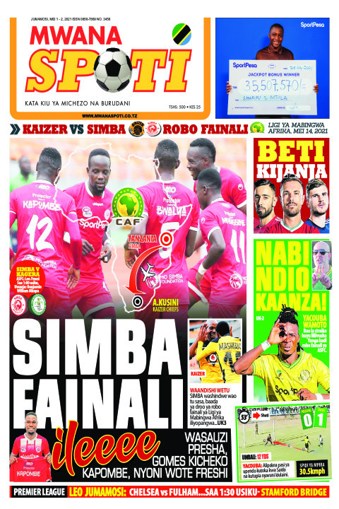 SIMBA FAINALI ILEEE!!,NABI NDIO KAANZA!  | Mwanaspoti