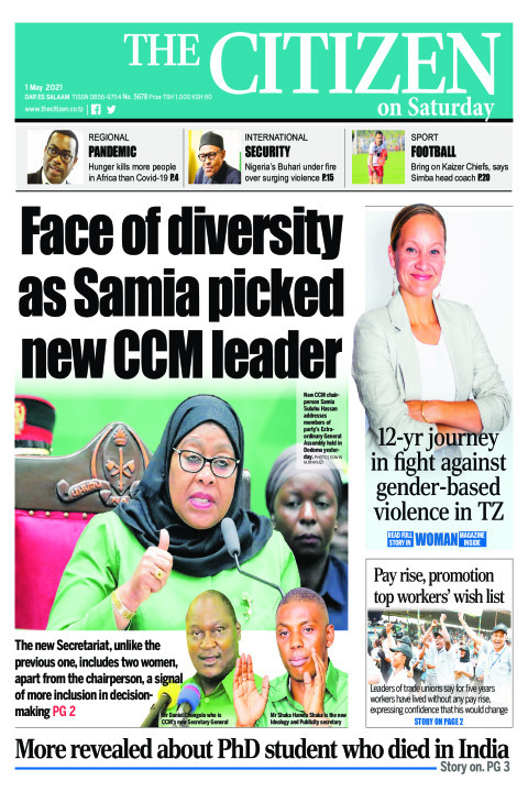 FACE OF DIVERSITY AS SAMIA PICKED NEW CCM LEADER