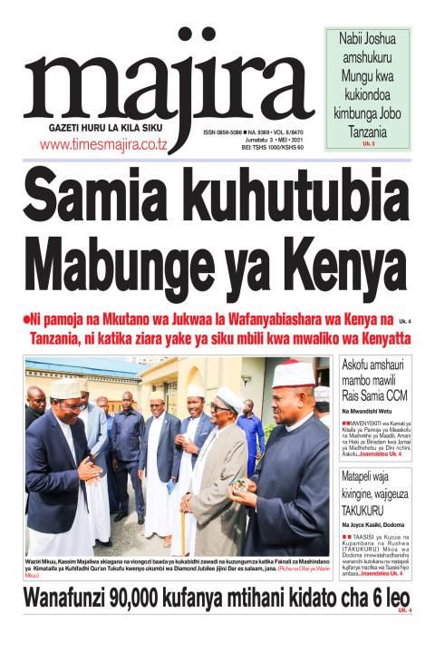 Samia kuhutubia Mabunge ya Kenya | MAJIRA