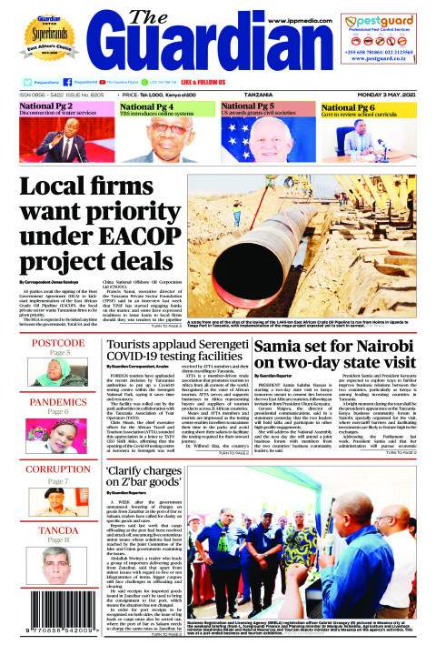 Local firms want priority under EACOP project deals  | The Guardian