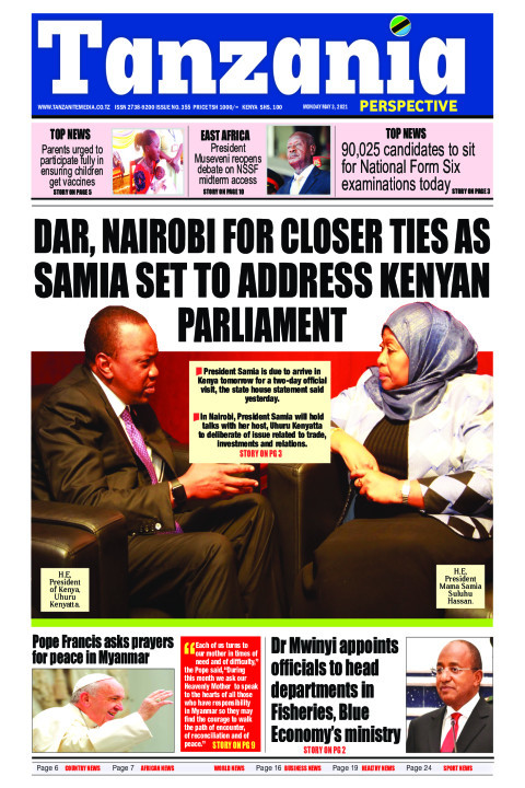 Dar, Nairobi for closer ties as Samia set to address Kenyan  | Tanzania Perspective