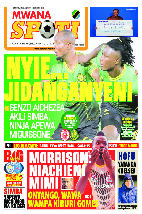 NYIE... JICHANGANYENI  | Mwanaspoti