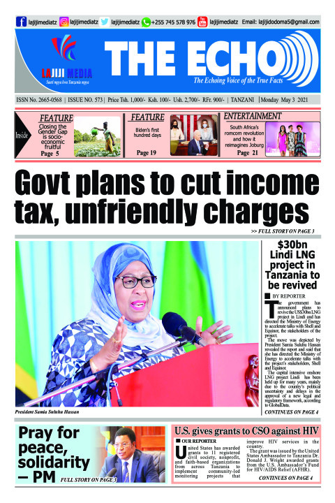 Govt plans to cut income tax, unfriendly charges   | The ECHO
