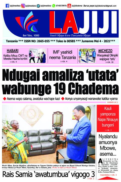 Ndugai amaliza 'utata' wabunge 19 Chadema  | LaJiji