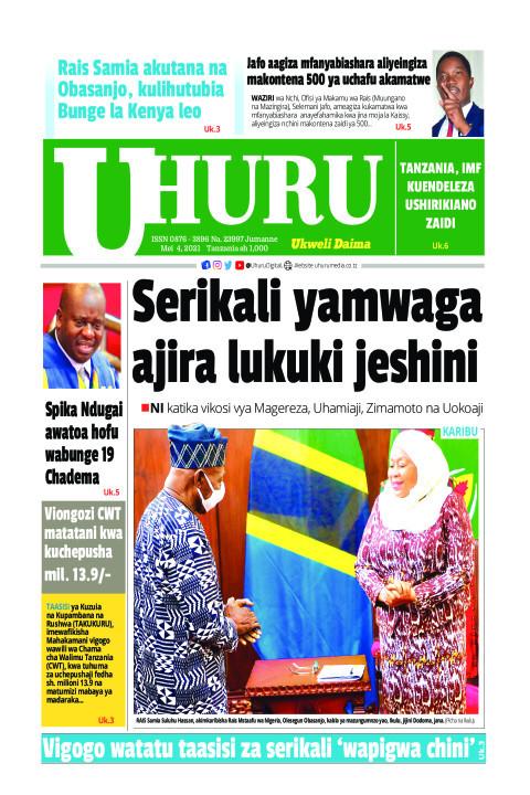 Serikali yatoa ajira lukuki jeshini | Uhuru
