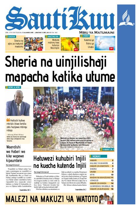 SHERIA NA UINJILISHAJI, MAPACHA KATIKA UTUME | Sauti Kuu Newspaper