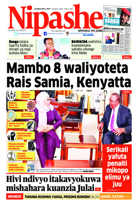 Mambo 8 waliyoteta Rais Samia, Kenyatta | Nipashe