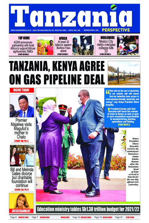 Tanzania, Kenya ink deal for gas pipeline | Tanzania Perspective