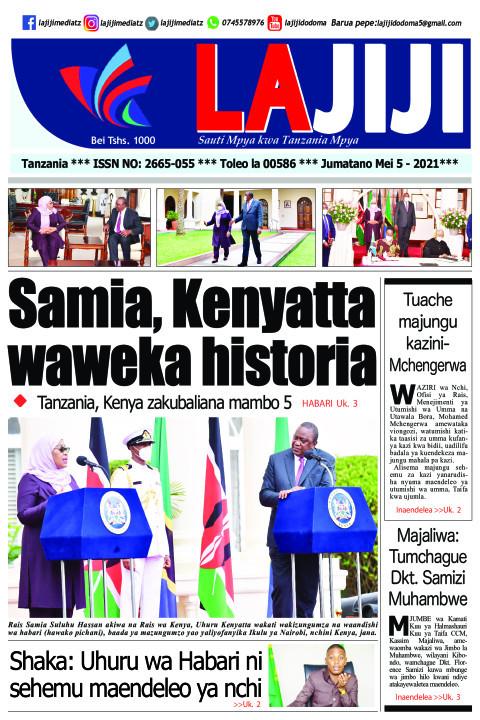 Samia, Kenyatta waweka historia  | LaJiji
