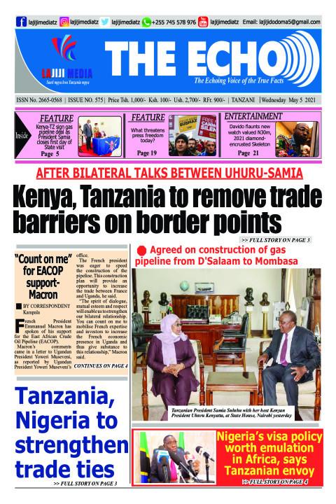 AFTER BILATERAL TALKS  BETWEEN UHURU-SAMIA  Kenya, Tanza | The ECHO