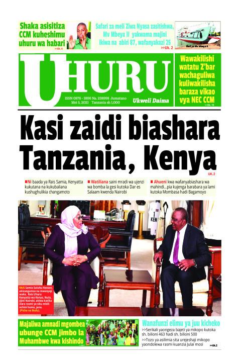 Kasi zaidi biashara Tanzanoa, Kenya | Uhuru