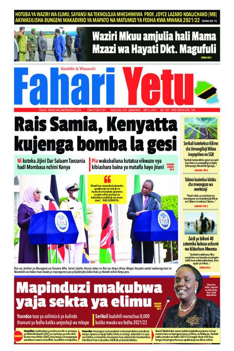 Rais Samia, Kenyatta kujenga bomba la gesi | Fahari Yetu