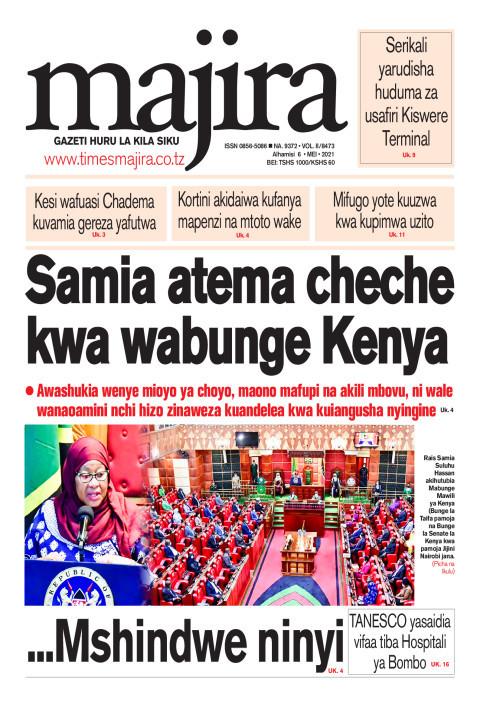 Samia atema cheche kwa Wabunge Kenya | MAJIRA