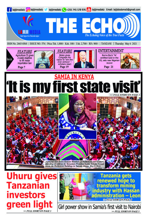 'It is my first state visit'    | The ECHO