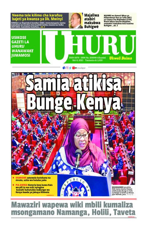 Samia atikisa bunge Kenya | Uhuru