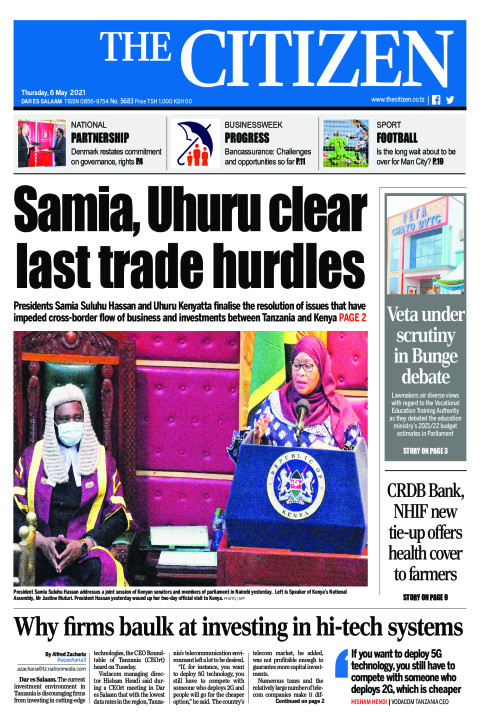SAMIA, UHURU CLEAR LAST TRADE HURDLES