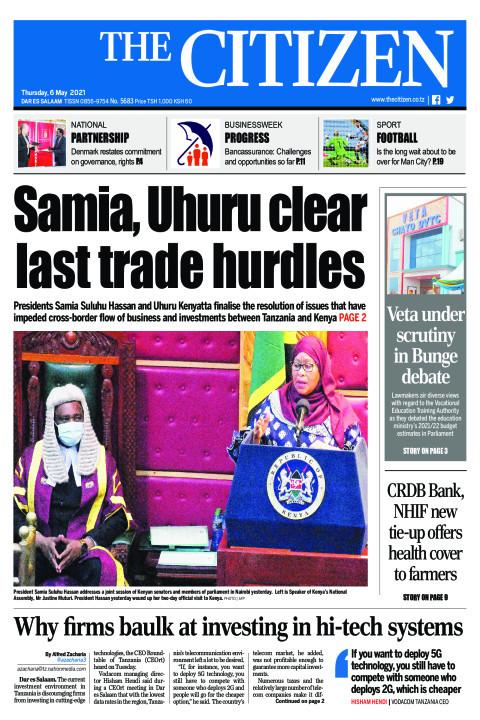 SAMIA, UHURU CLEAR LAST TRADE HURDLES  | The Citizen