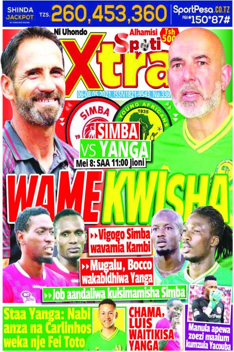 SIMBA VS YANGA WAMEKWISHA | SpotiXtra Alhamis