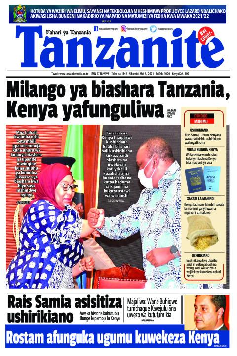 Milango ya biashara Tanzania, Kenya yafunguliwa | Tanzanite
