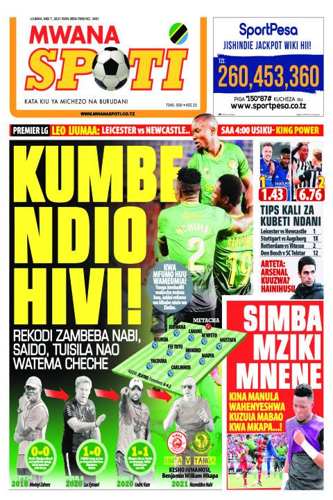 KUMBE NDIO HIVI!!  | Mwanaspoti