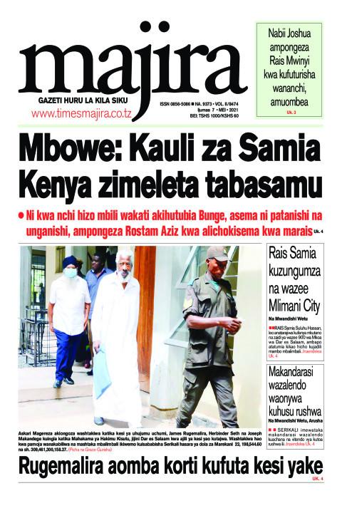 Mbowe: Kauli za Samia Kenya zimeleta tabasamu | MAJIRA