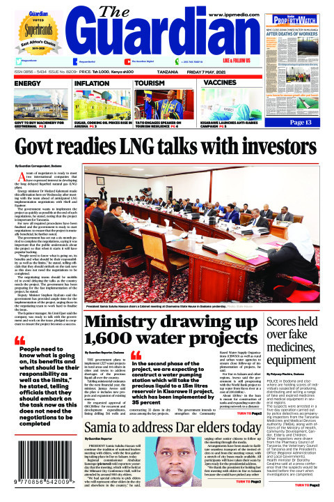 Govt readies LNG talks with investors | The Guardian