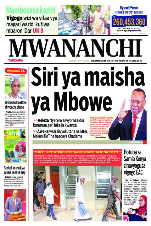 SIRI YA MAISHA YA MBOWE  | Mwananchi