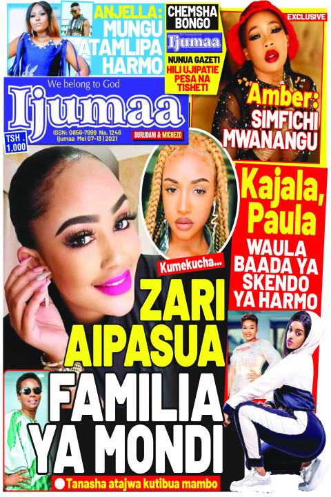 ZARI AIPASUA FAMILIA YA MONDI | Ijumaa Ijumaa
