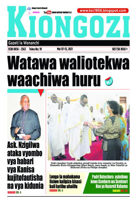 Watawa waliotekwa Waachiwa Huru | Kiongozi