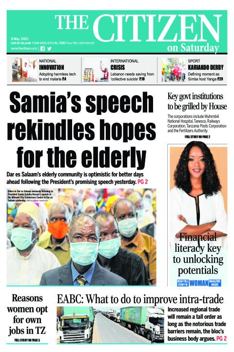 SAMIA'S SPEECH REKINDLES SHOPES FOR THE ELDERLY  | The Citizen