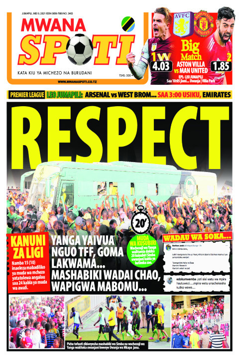 RESPECT  | Mwanaspoti